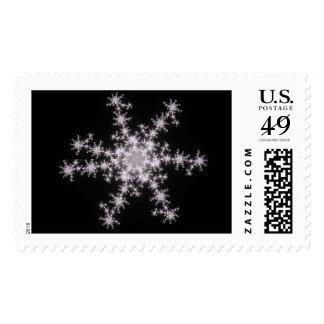 Fractal Snowflake Stamp (Second Version)
