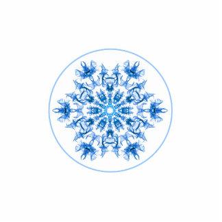Fractal Snowflake Statuette