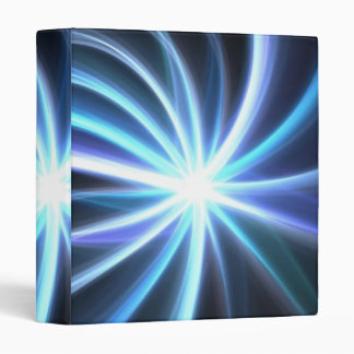 Fractal solar brillante azul Starburst
