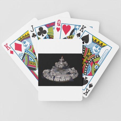 Fractal Spaceship Playing Cards