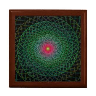 Fractal spiral gift box