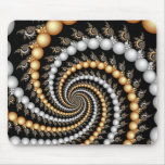 Fractal Spiral Staircase Mousepad