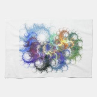 Fractal Spirals Towel