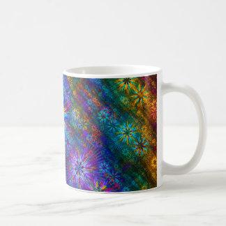 Fractal Spring Swatch Coffee Mug