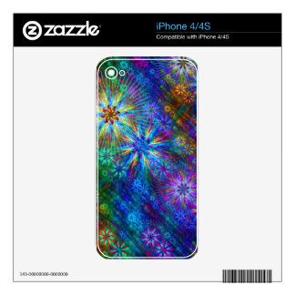 Fractal Spring Swatch Skin For The iPhone 4S
