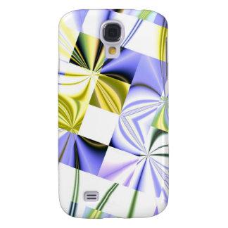 Fractal squares 3G Samsung Galaxy S4 Case