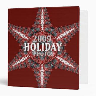 Fractal Star Holiday Binder