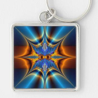 Fractal star. keychain