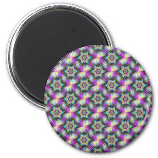 Fractal Star Tiled Magnet