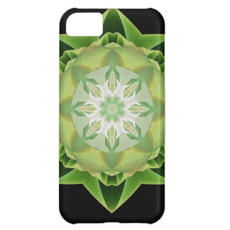 Fractal Stardust green Case For iPhone 5C