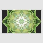 Fractal Stardust green Sticker