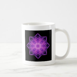 Fractal Stardust purple Coffee Mug