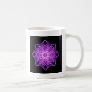 Fractal Stardust purple Coffee Mug