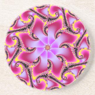 Fractal Starfish Coaster