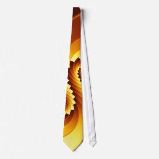Fractal Stepped Spiral Tie
