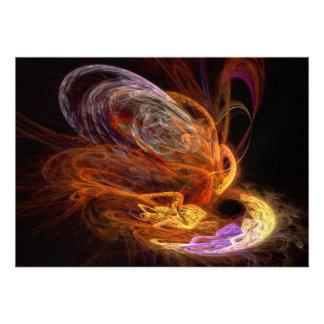 Fractal - subida de la Phoenix Comunicado Personalizado