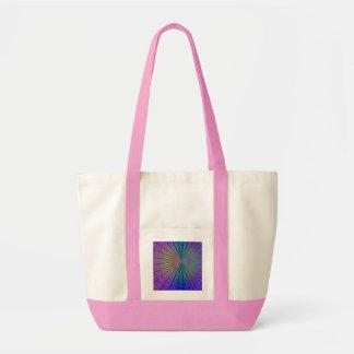 Fractal Sunburst Art Bags
