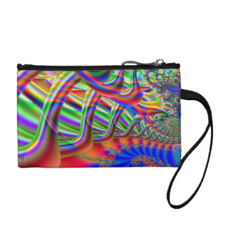 Fractal Super Highway Coin Purse