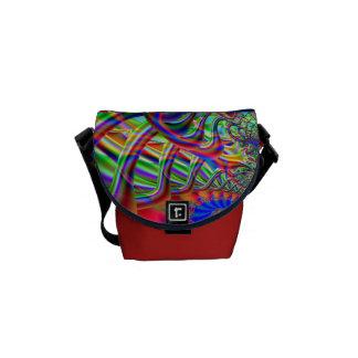 Fractal Super Highway Messenger Bag