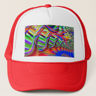 Fractal Super Highway Trucker Hat
