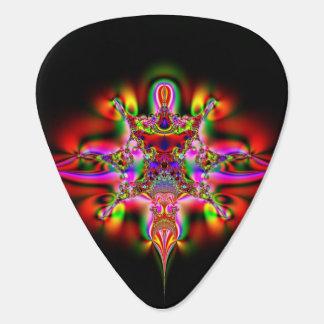 Fractal Swirls Guitar Pick