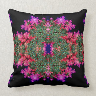 Fractal Symmetry Throw Pillow