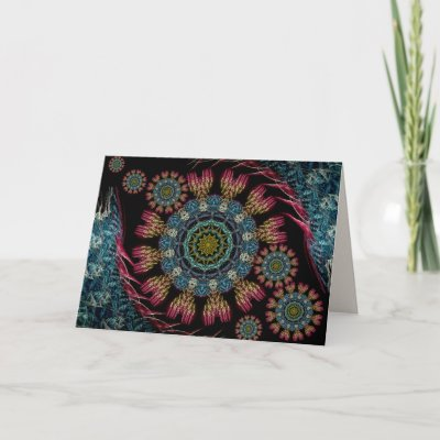 Fractal Tapestry Card card