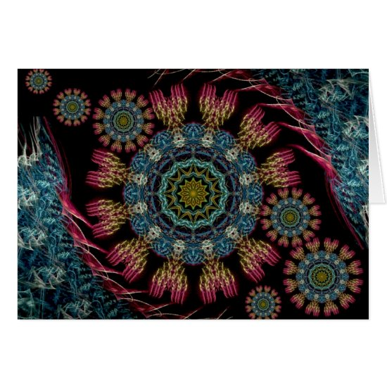 Fractal Tapestry Card