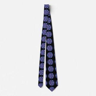 Fractal Tie - Purple