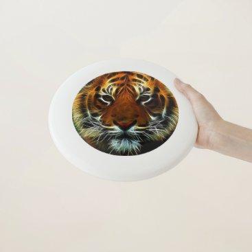 Fractal Tiger Face Wham-O Frisbee