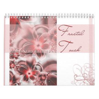 Fractal Touch Calendar