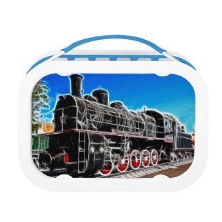 Fractal Train Lunch Box at Zazzle