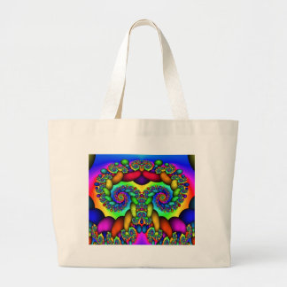 Fractal Tree of Life Large Tote Bag