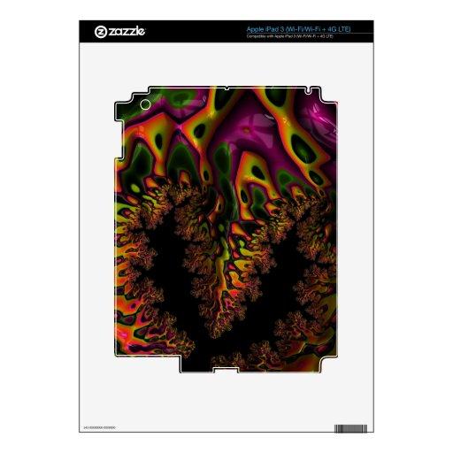 Fractal Trippy iPad 3 Skin