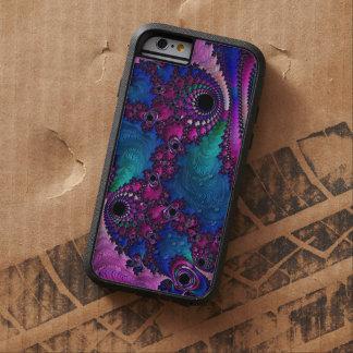 Fractal Trippy iphone6 duro Funda Tough Xtreme iPhone 6