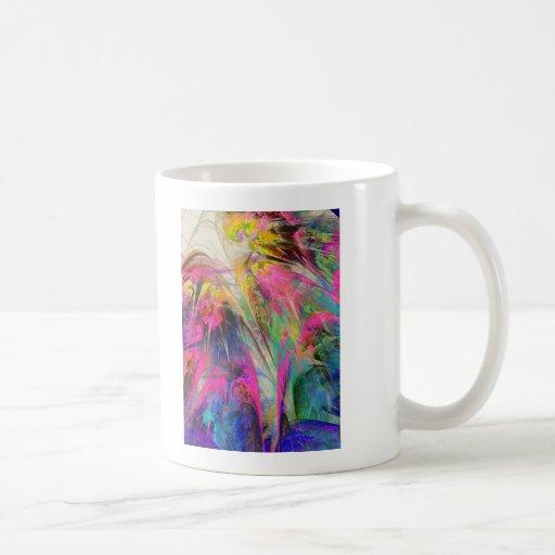 Fractal - Tropical Flowers Mug