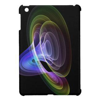 Fractal tubular del arco iris de los colores