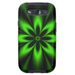 Fractal verde de la explosión de la flor galaxy SIII carcasa