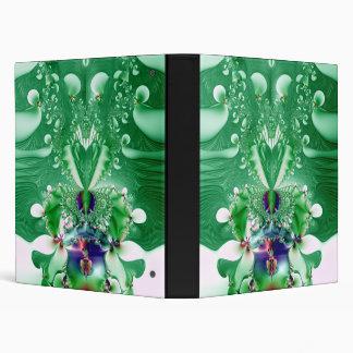 """Fractal verde del corazón y de las flores carpeta 1"""""""