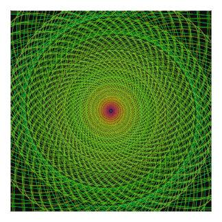 Fractal verde fotografia