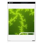 Fractal verde PS3 slim calcomanía