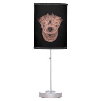 Fractal Views... 160313-11 Table Lamp