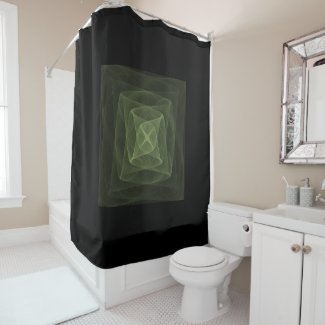 Fractal Views 160322-200 Shower Curtain