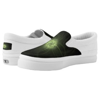 Fractal Views... Slip-On Sneakers
