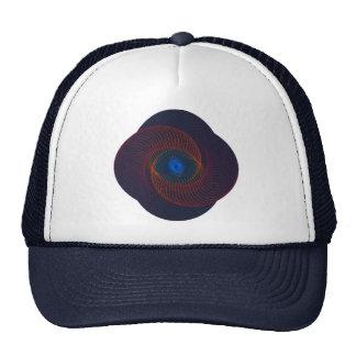 Fractal Vortex Abstract Art Trucker Hat