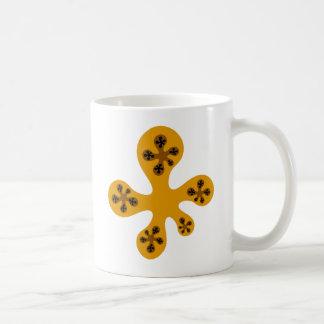 Fractal Walker - Orange Mugs