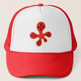 Fractal Walker - Red Trucker Hat