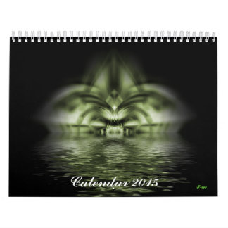 Fractal Wall Calendar 2015