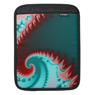 Fractal Wave Sleeves For iPads