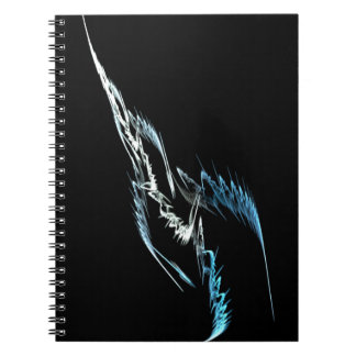 Fractal Weapon Spiral Note Books